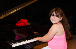 Piano and Violin Recital Portraits | Mahomet, IL Portrait Photographer