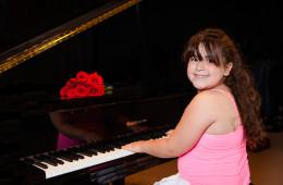 Piano and Violin Recital Portraits | Mahomet, IL Portrait Photographer