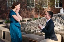 Alyssa & Richard Surprise Engagement Proposal | UIUC, IL