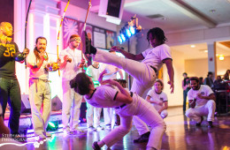 Capoeira Angola Center at Courtyard Cafe Latin Night 2013 | UIUC Event Photographer