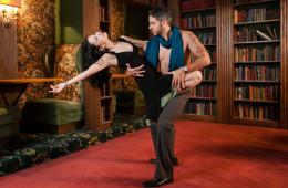 Salsa Dance at Urbana Landmark Hotel | Urbana, IL Photographer